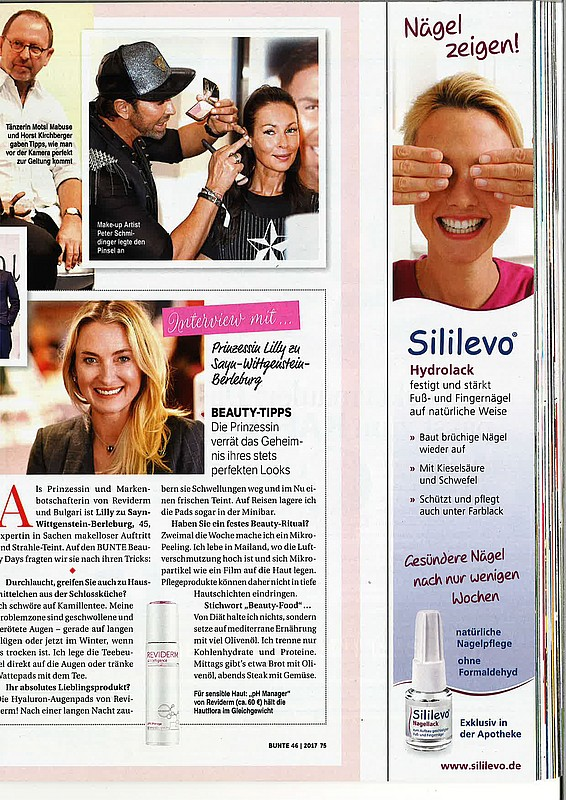 Issue of 《COLORFUL》 Interview with Princess Lilly zu Sayn-Wittgenstein-Berleburg