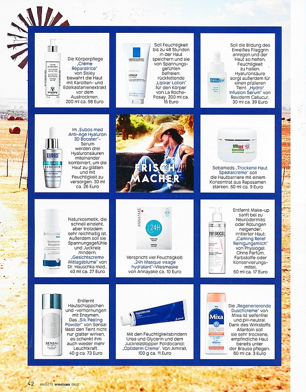 Issue of 《Brigitte Woman》 REVIDERM Hydro2 Infusion Serum